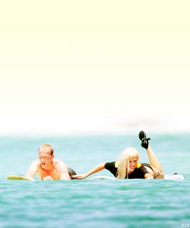 Леди Гага на отдыхе