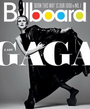 Леди Гага на обложках журналов