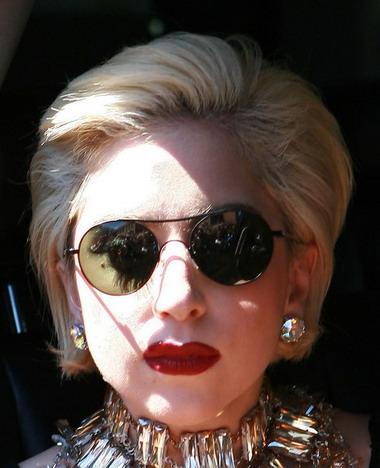 Прически Lady Gaga