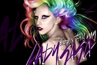 Леди Гага на обложках синглов