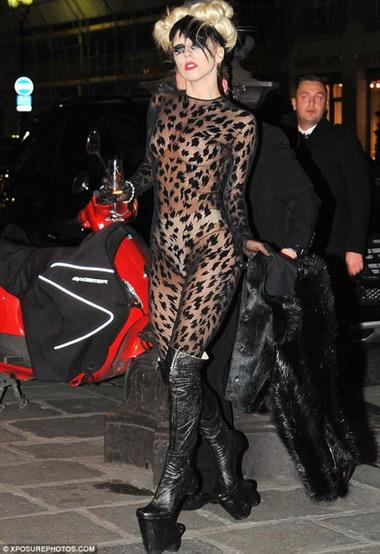 Откровенные фото Леди Гага