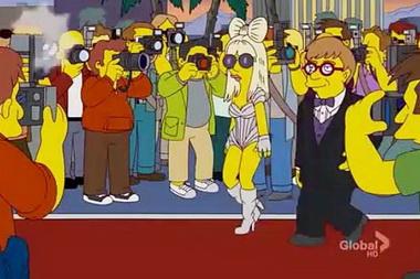 """Леди Гага участвовала в создании эпизода """"Симпсонов"""""""