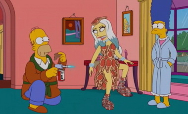 """В """"Симпсонах"""" снова появится Леди Гага"""