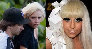 Леди Гага без макияжа