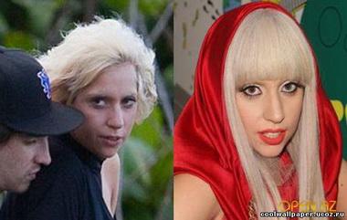 Леди Гага без грима и фотошопа